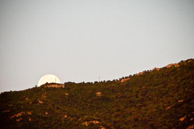 moonset in montejurra