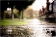 Agua a ras de suelo